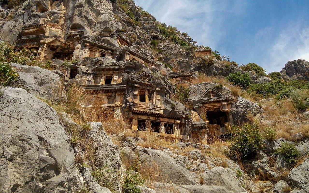 AWAYN IMAGE Day trip to Lycian Rock Tombs