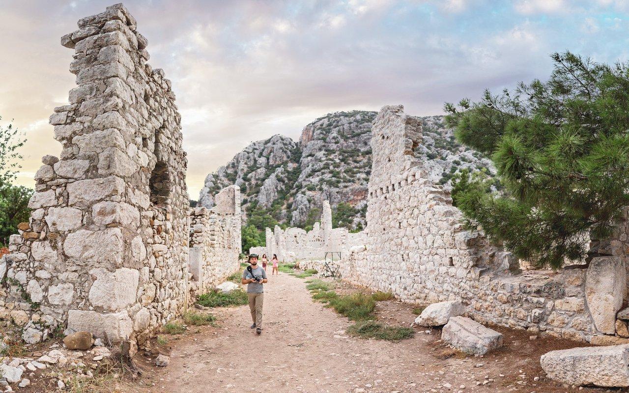 AWAYN IMAGE Explore Myra Necropolis – the land of the ruins