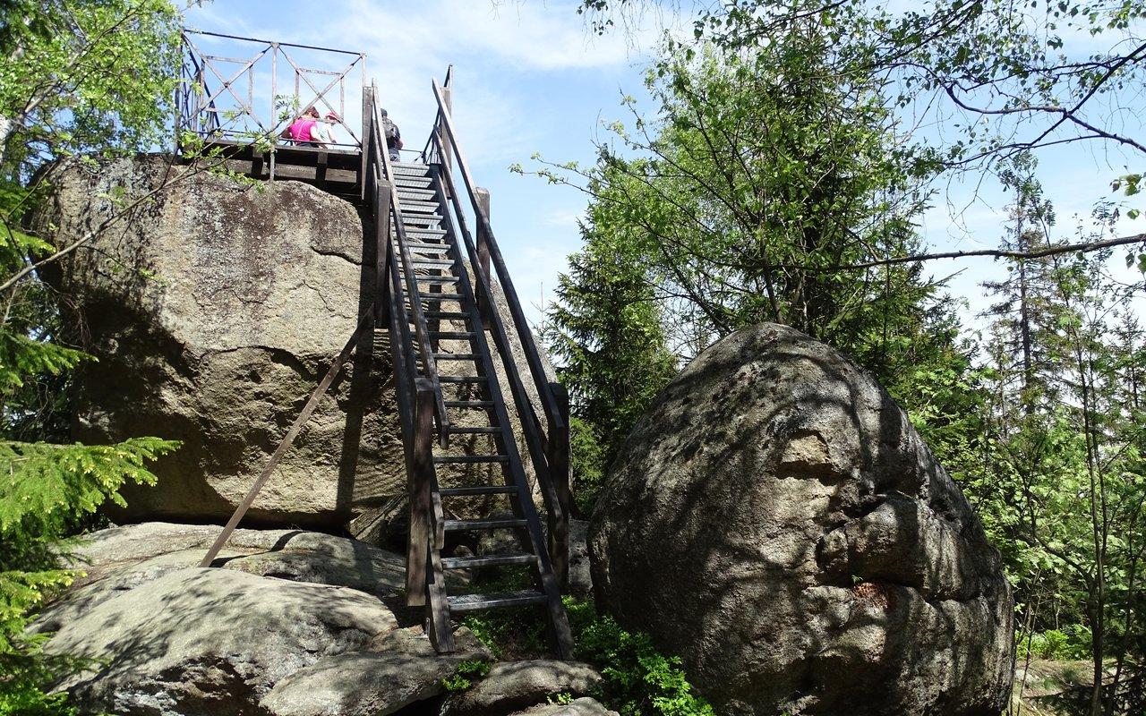 AWAYN IMAGE Luisenburg Rock Labyrinth
