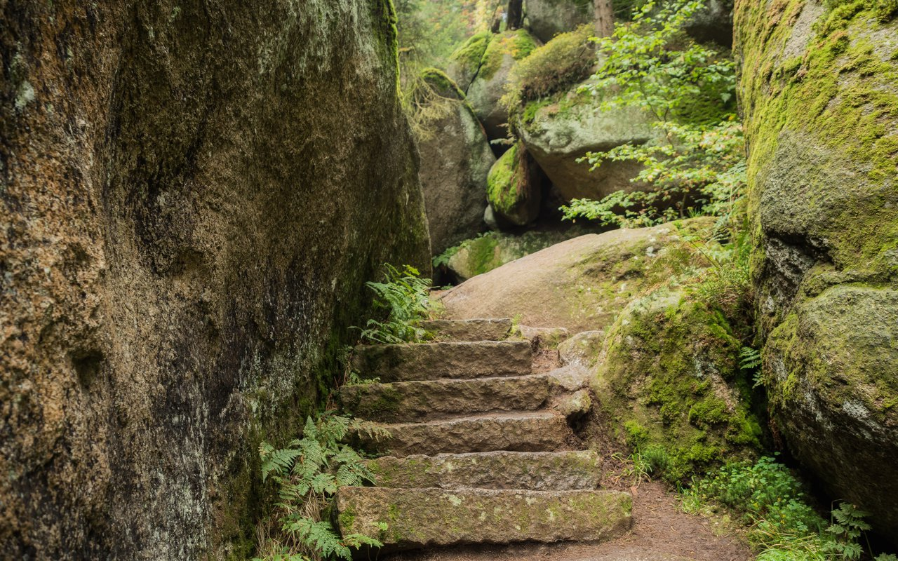 AWAYN IMAGE Luisenburg Rock Labyrinth