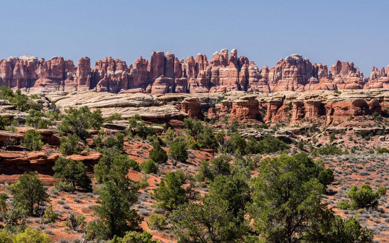 AWAYN IMAGE Canyonlands National Park Needles District by 4x4