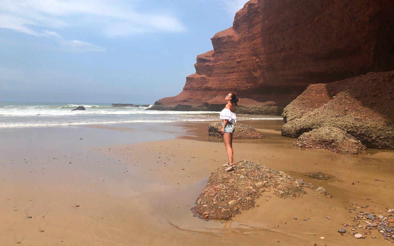 AWAYN IMAGE Beach Day at Legzira Beach