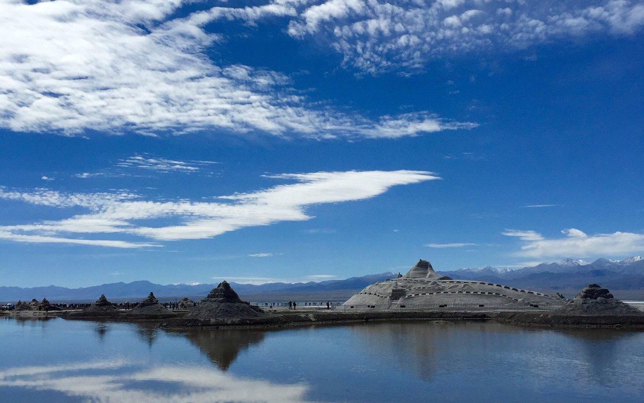 AWAYN IMAGE Explore Qinghai-Xizang Desert Salt
