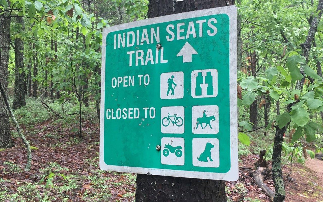 AWAYN IMAGE Indian Seats At Sawnee Trail in Cumming, Georgia