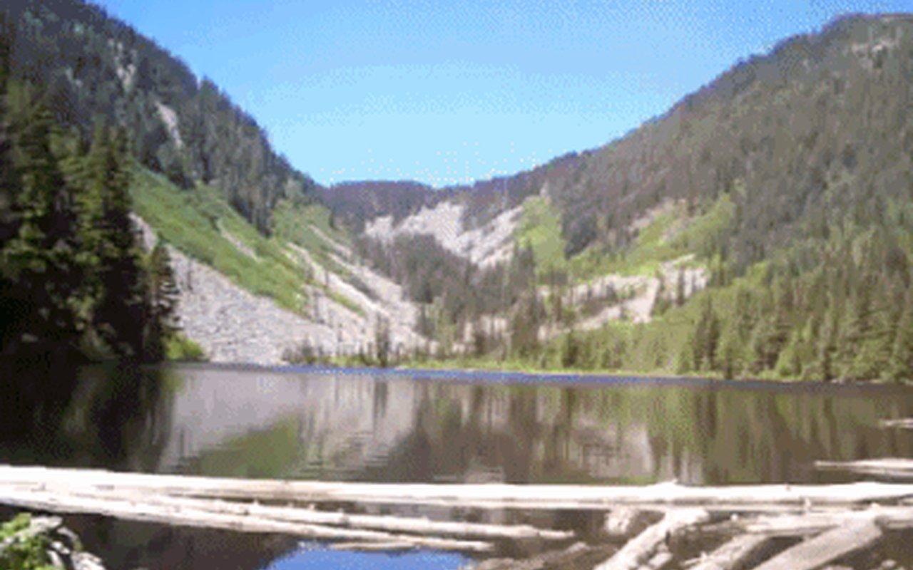 AWAYN IMAGE Talapus Lake Hike Fishing