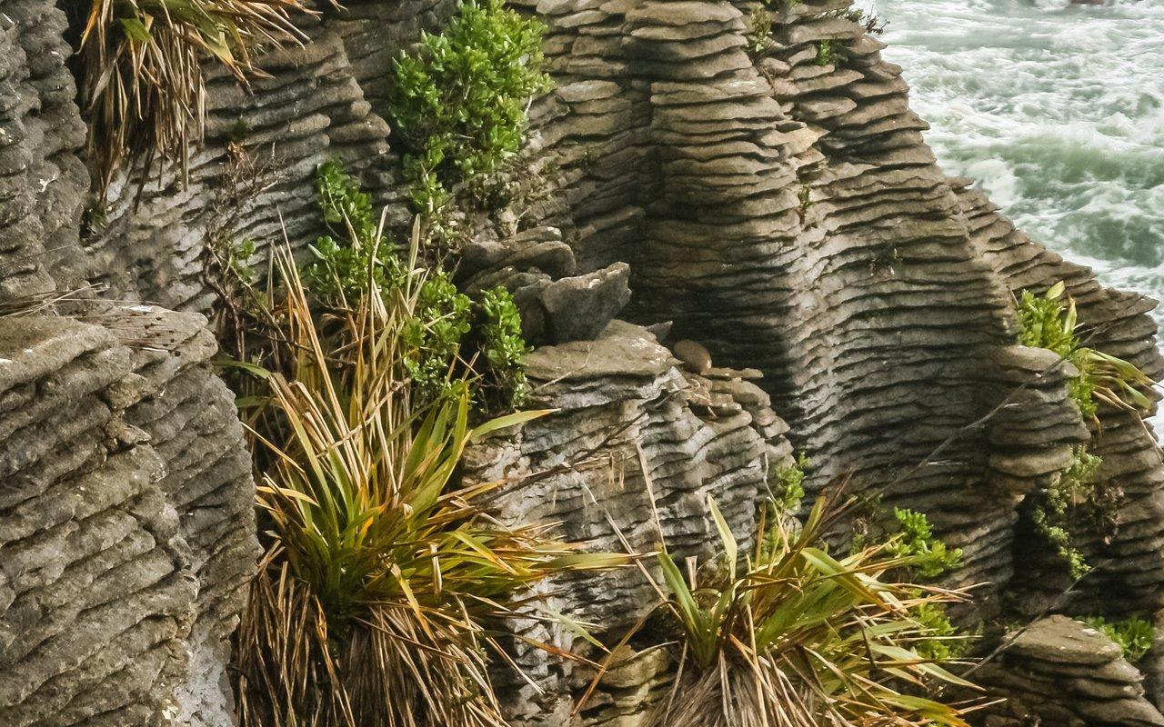 AWAYN IMAGE Punakaiki Pancake Rocks