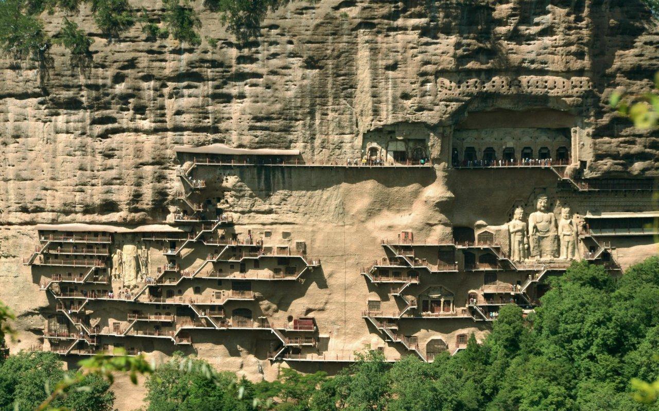 AWAYN IMAGE Maijishan Grottoes