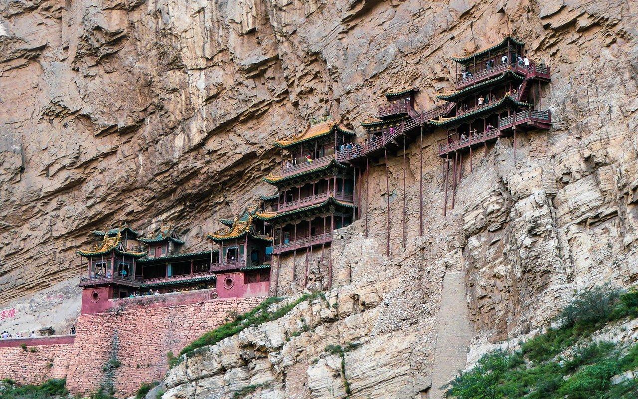 AWAYN IMAGE Hanging Temple of Hengshan