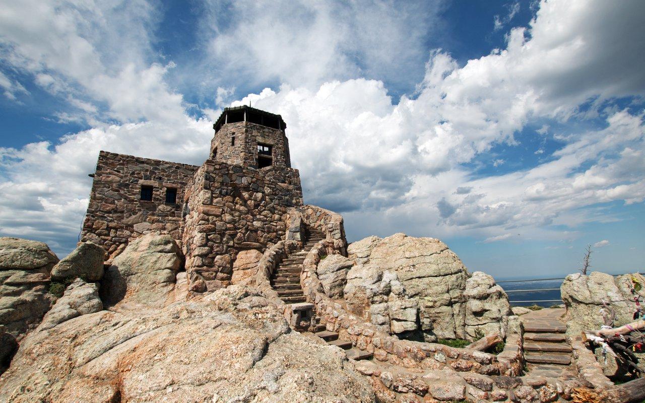 AWAYN IMAGE Harney Peak Fire Lookout Tower
