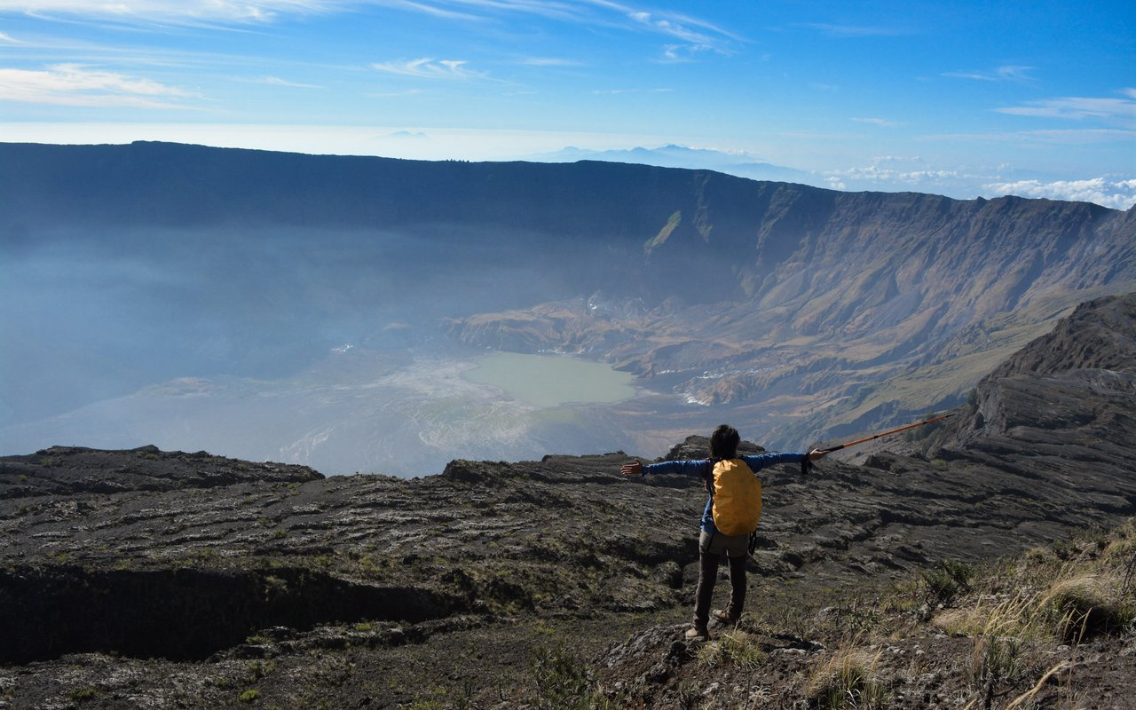 AWAYN IMAGE Explore the enchanting Sumbawa Island's Mount Tambora