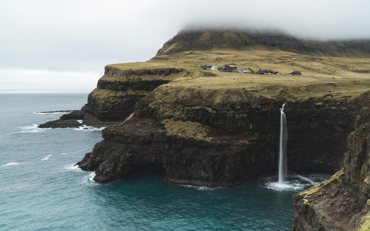 AWAYN IMAGE Exotic Skateboarding to Faroe Islands