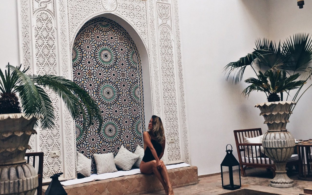 AWAYN IMAGE Riad in the old Medina of Marrakech