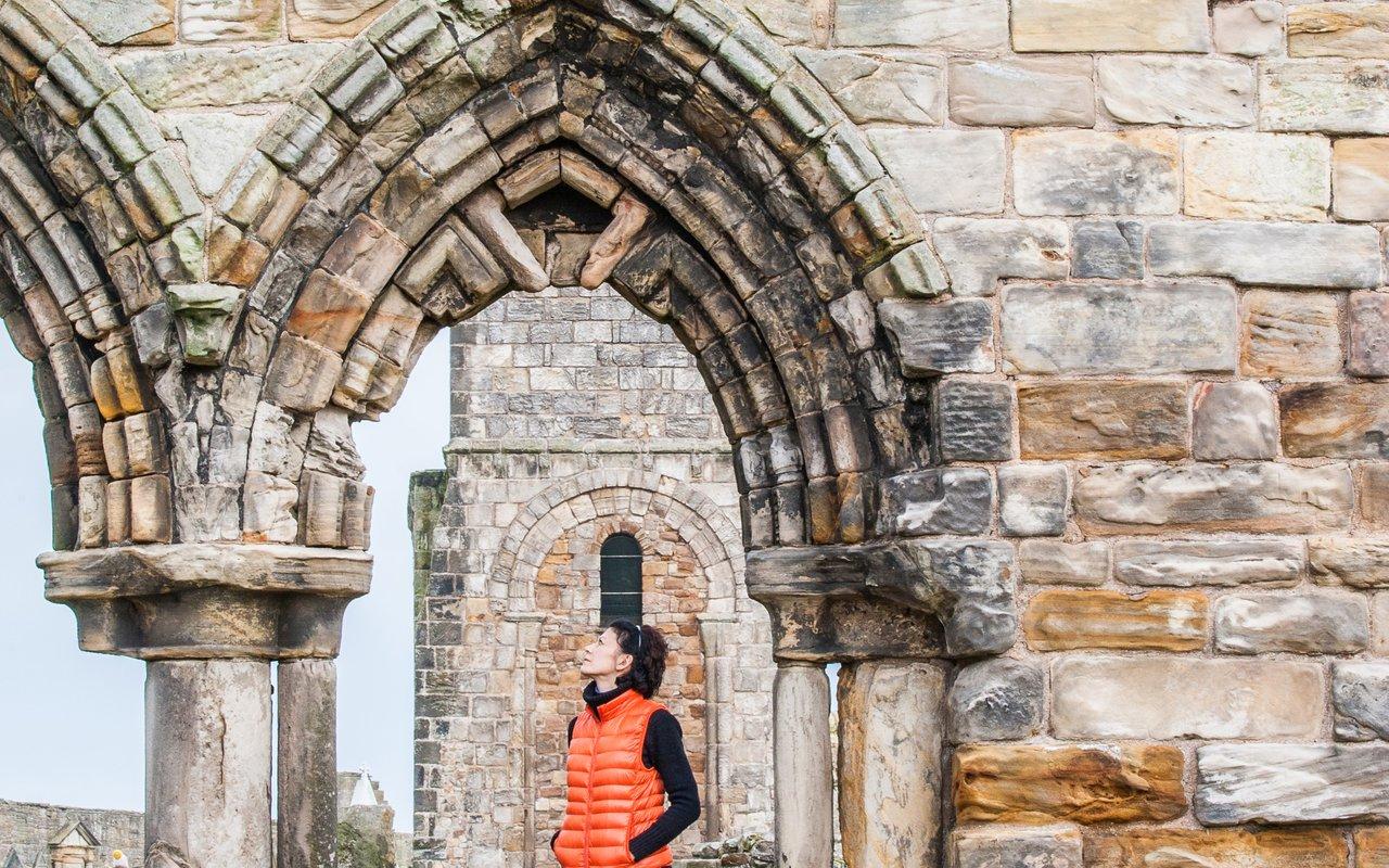 AWAYN IMAGE Hike to St Andrews Ruins