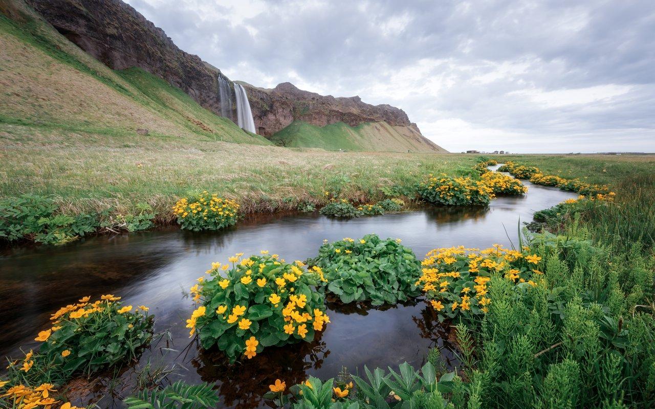 AWAYN IMAGE Seljalandsfoss Kvernufoss Waterfall
