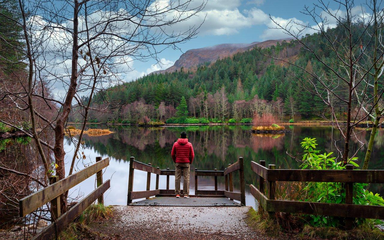 AWAYN IMAGE Hike to Glencoe Lochan Trail