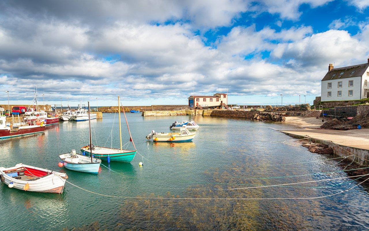 AWAYN IMAGE St Abbs Harbour