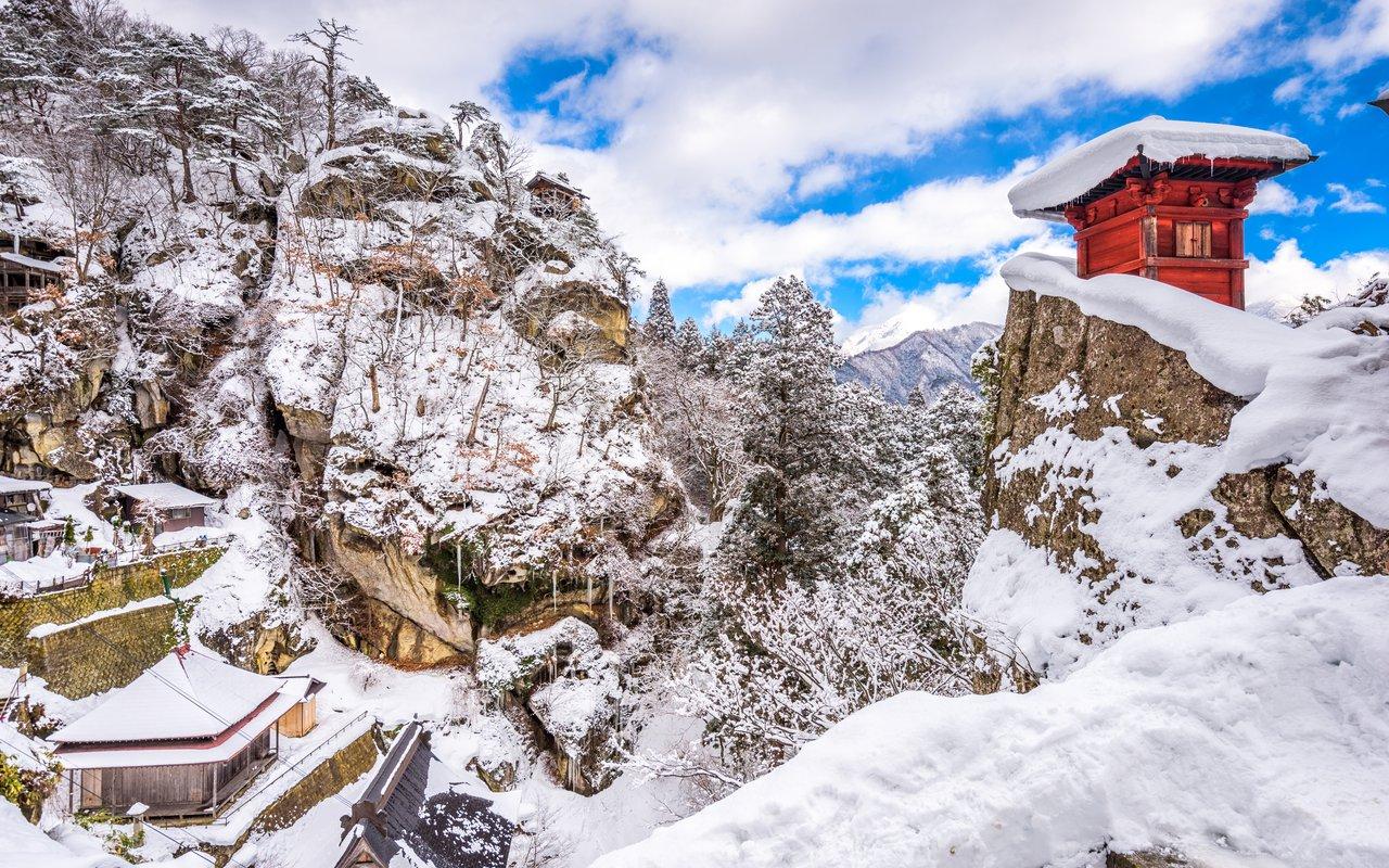 AWAYN IMAGE Yama-dera Mountain Temple