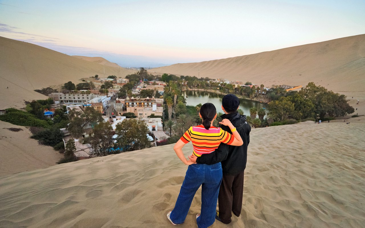 AWAYN IMAGE Hike to Huacachina