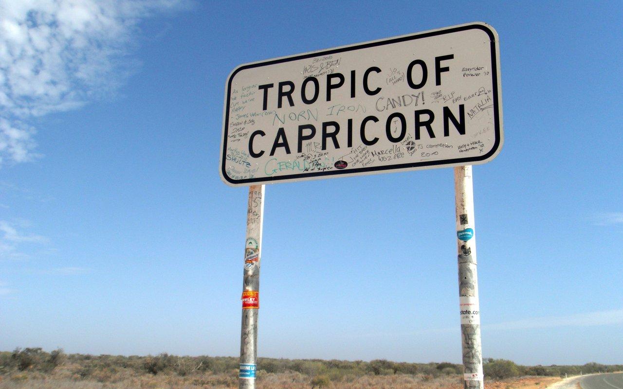 AWAYN IMAGE Photograph Tropic of Capricorn Sign