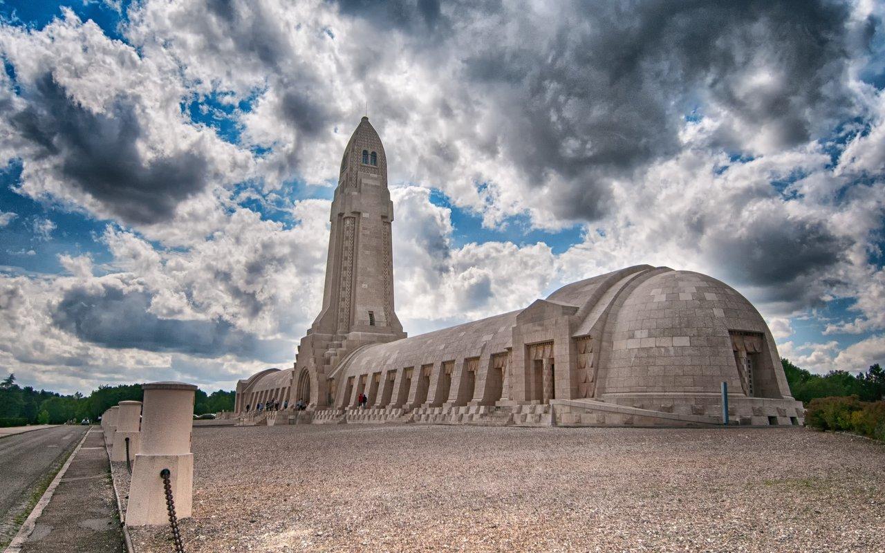 AWAYN IMAGE Douaumont Ossuary