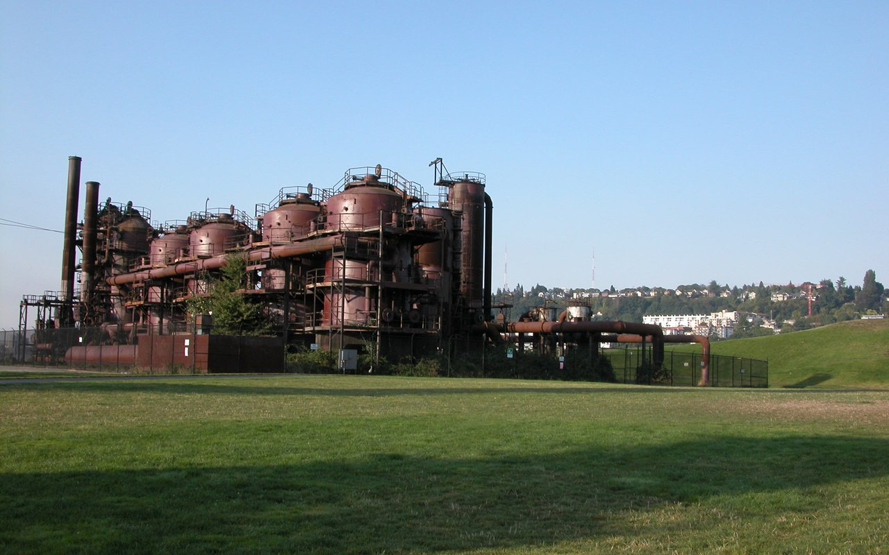 AWAYN IMAGE Explore the Gas Works Park
