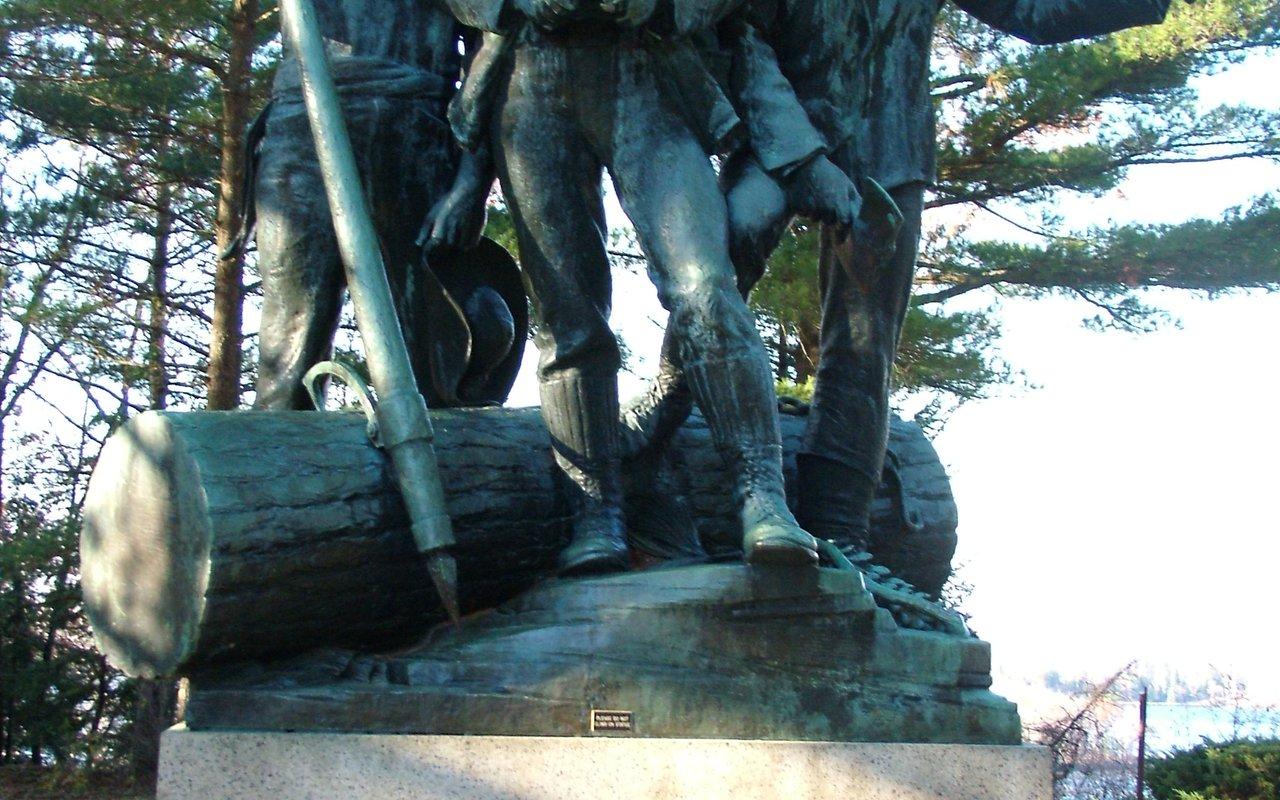 AWAYN IMAGE Celebrate Logging History at Lumberman's Monument