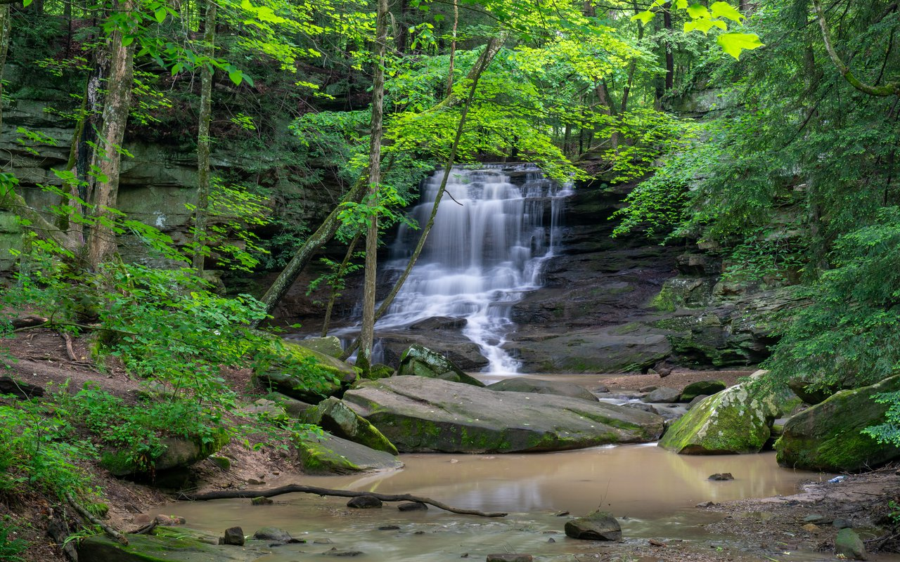 AWAYN IMAGE A Short Visit to the Honey Run Waterfall