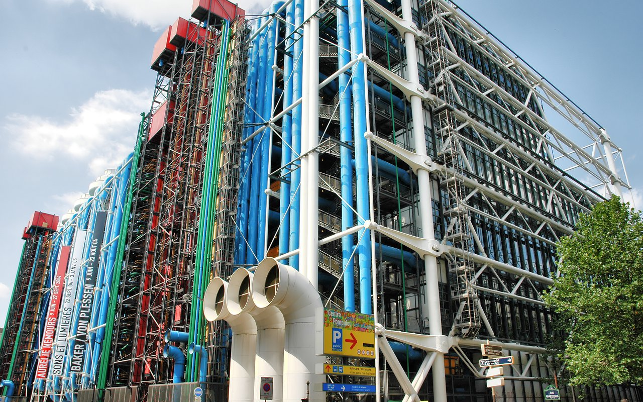 AWAYN IMAGE Check Out the Cool Design of the Pompidou Center