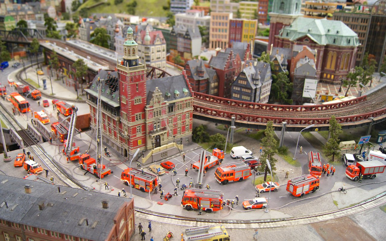 AWAYN IMAGE Check Out the Realistic Miniatur Wunderland