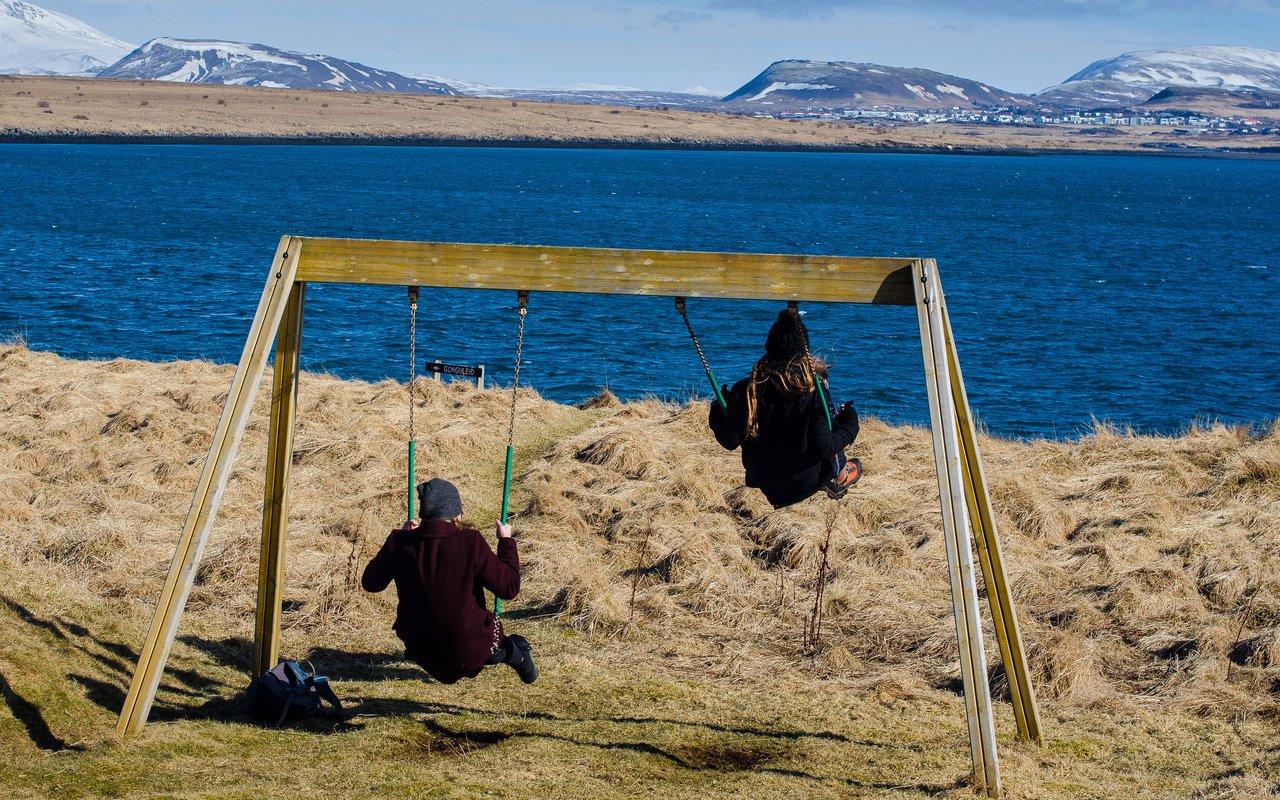 AWAYN IMAGE Picnic at videy (Viðey)  island