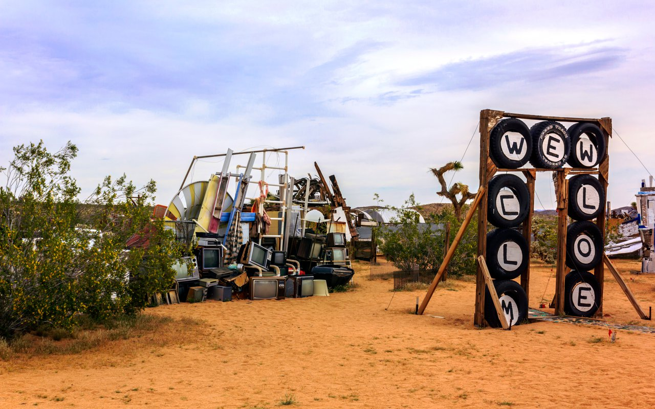 AWAYN IMAGE Visit The Noah Purifoy Desert Art Museum
