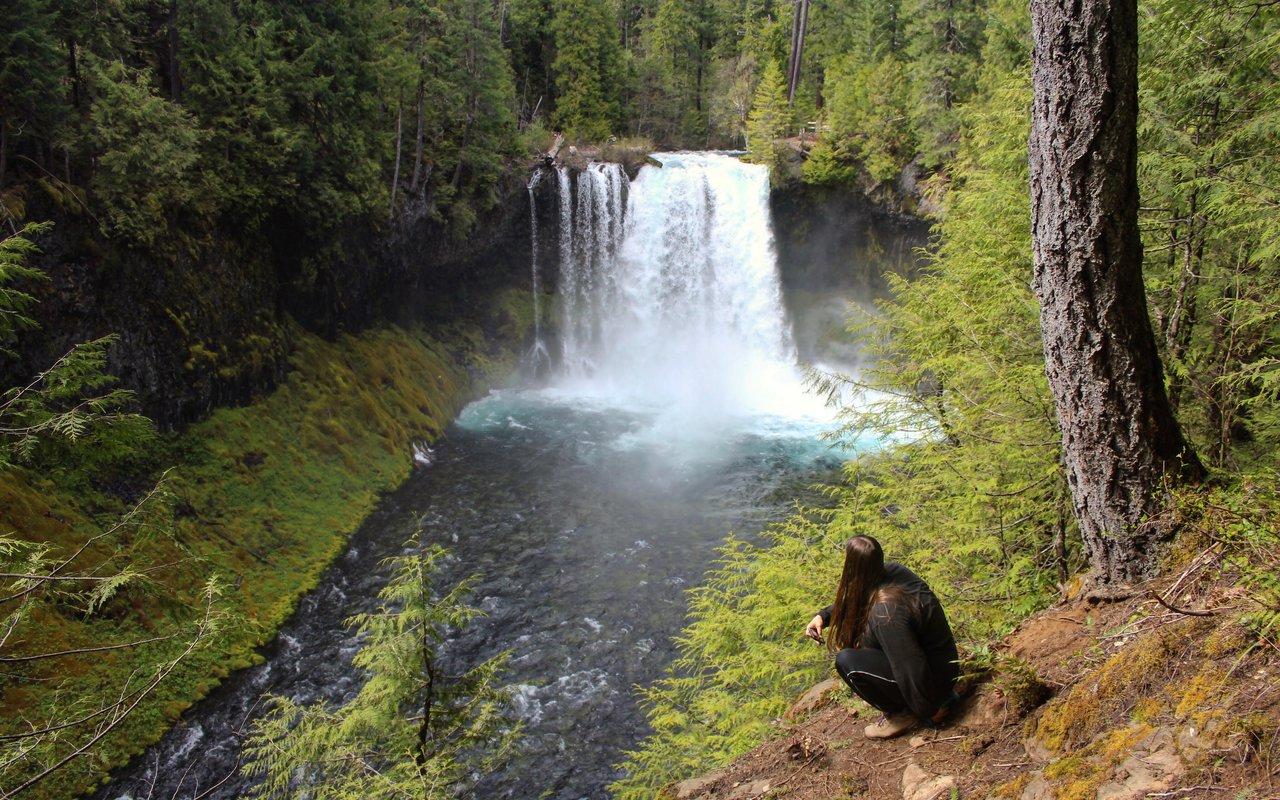 AWAYN IMAGE Visit Waterfall of Koosah Falls