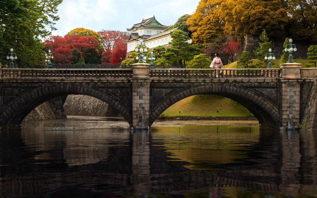 AWAYN IMAGE Visit the Tokyo Imperial Palace
