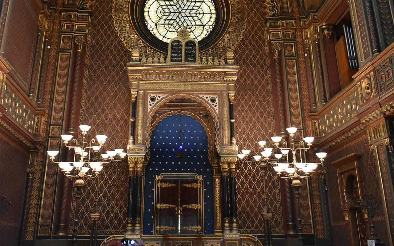 AWAYN IMAGE Spanish Synagogue in Josefov, Prague