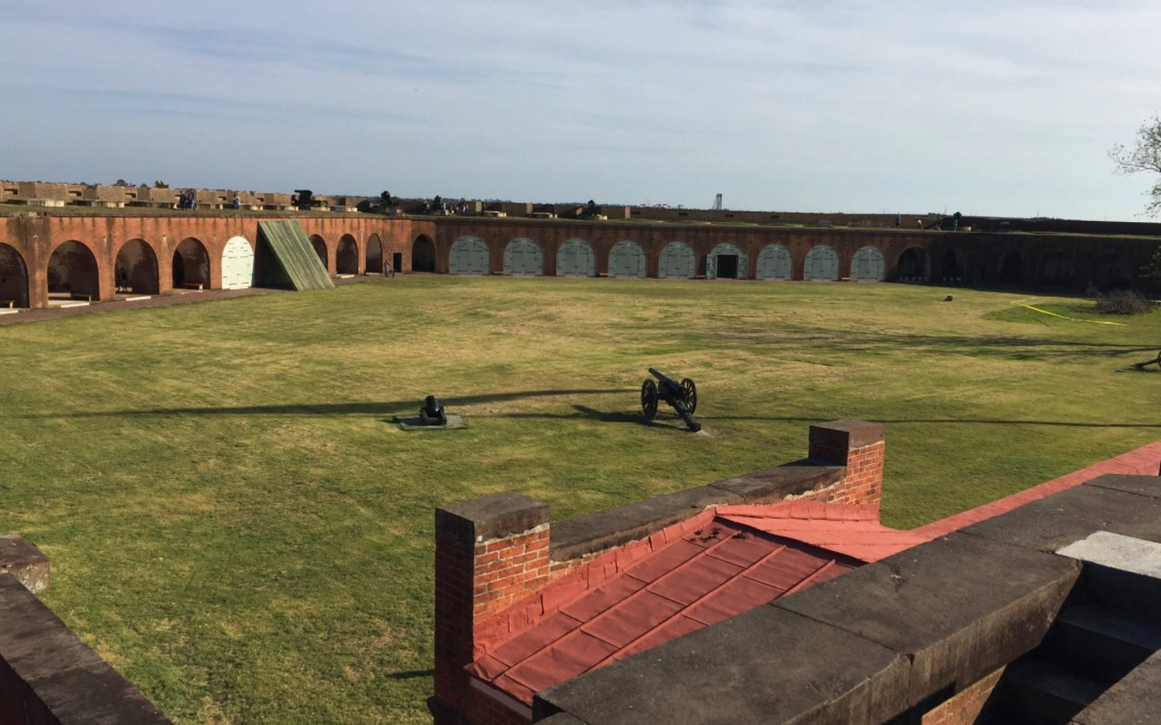 AWAYN IMAGE Fort Pulaski National Monument