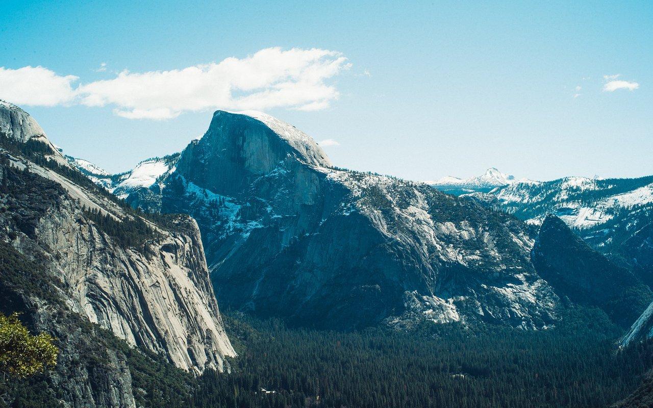 AWAYN IMAGE Half Dome Hike in Yosemite, CA