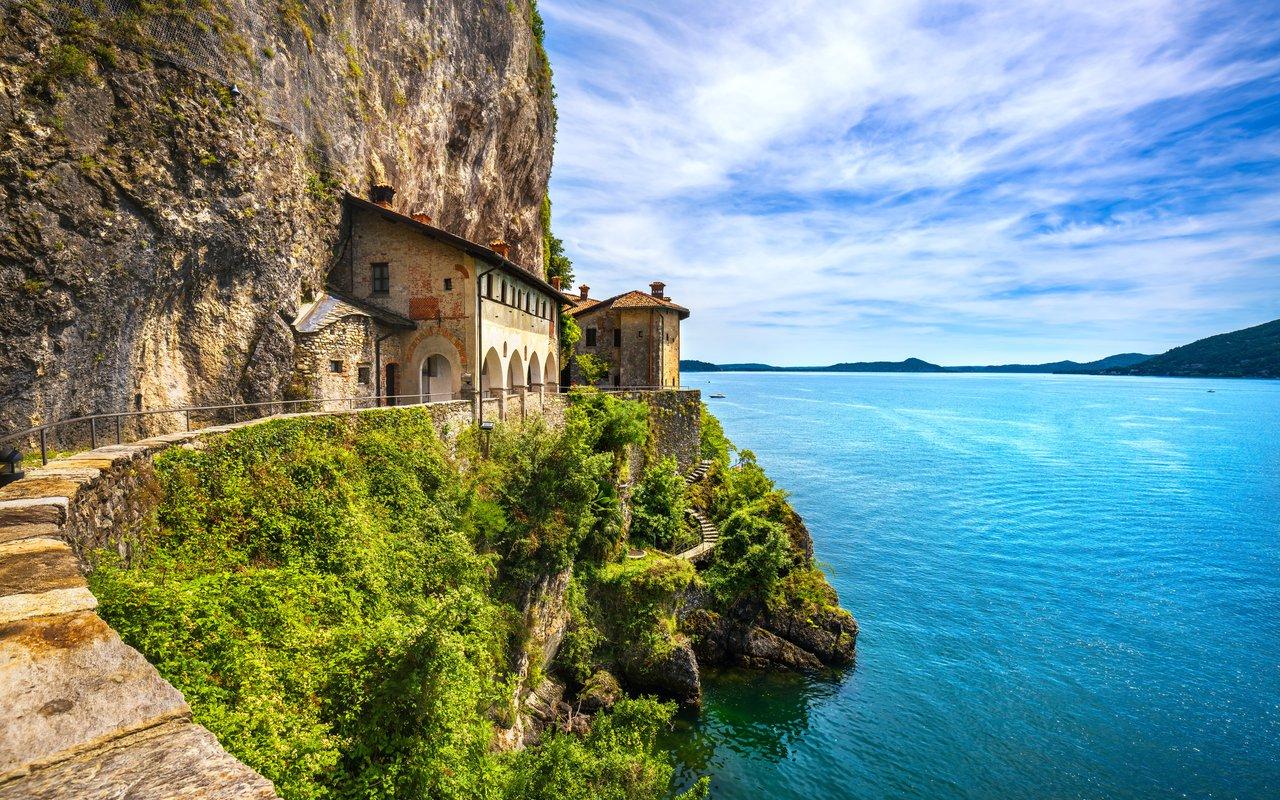 AWAYN IMAGE Explore the Santa Caterina del Sasso