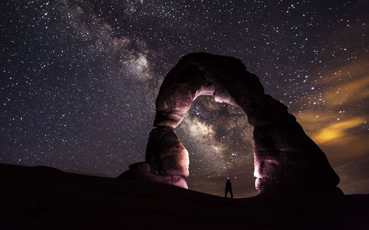 AWAYN IMAGE Double Arch star watching