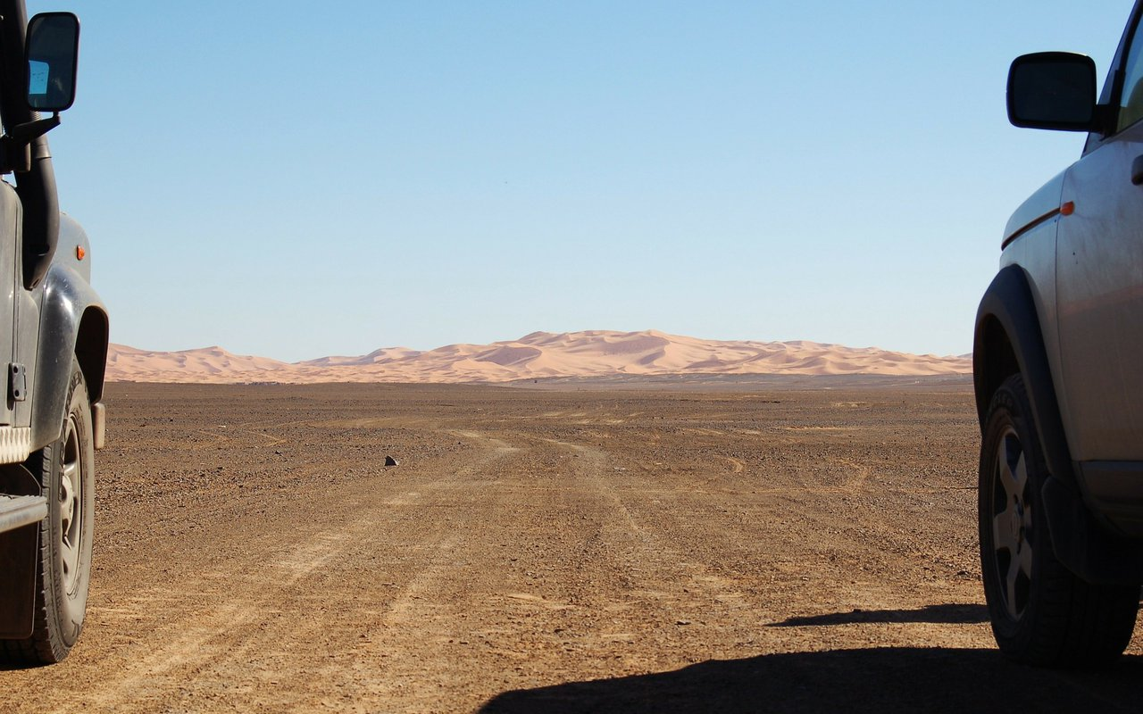 AWAYN IMAGE Merzouga Desert Moroco Overdriving