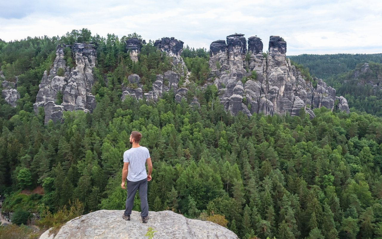 AWAYN IMAGE Bastei rocks