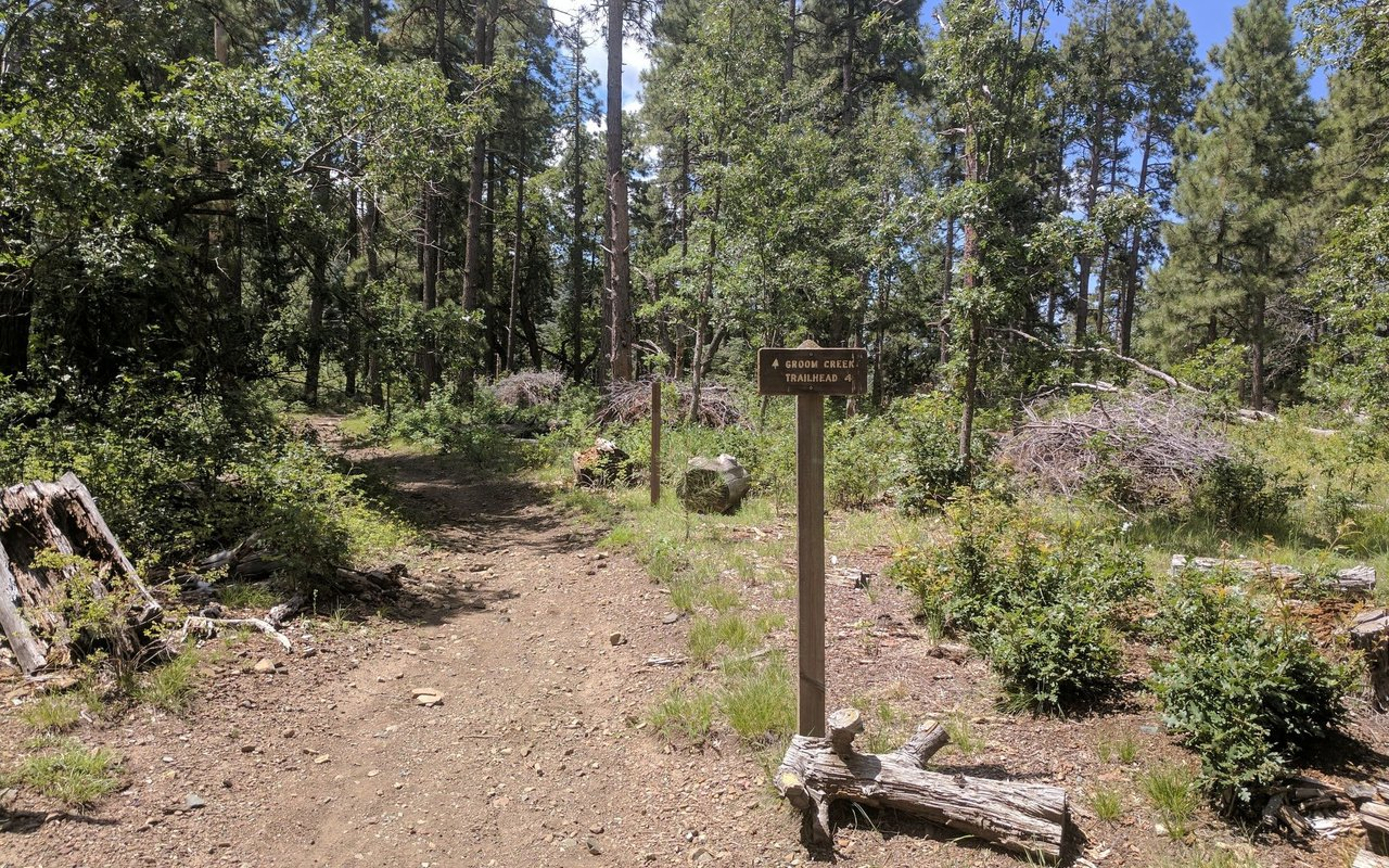 AWAYN IMAGE Groom Creek Loop Trail