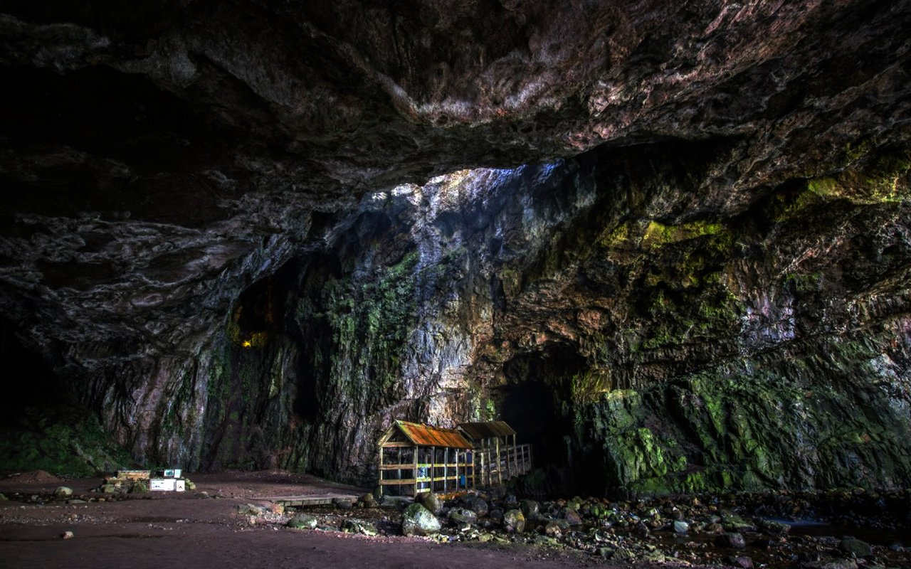 AWAYN IMAGE The Mystical Smoo Cave of Scotland