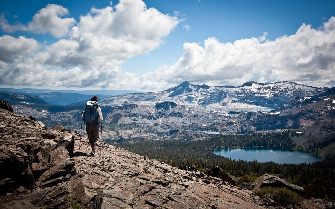 AWAYN IMAGE Camp to the Desolation Wilderness