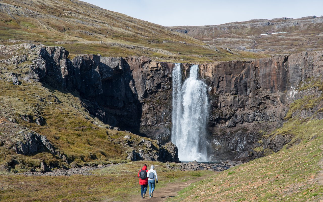 AWAYN IMAGE Hike in Gufufoss, Seydisfjordur