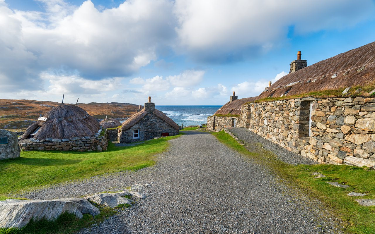 AWAYN IMAGE Walk around Gearrannan Blackhouse Village, Isle of Lewis