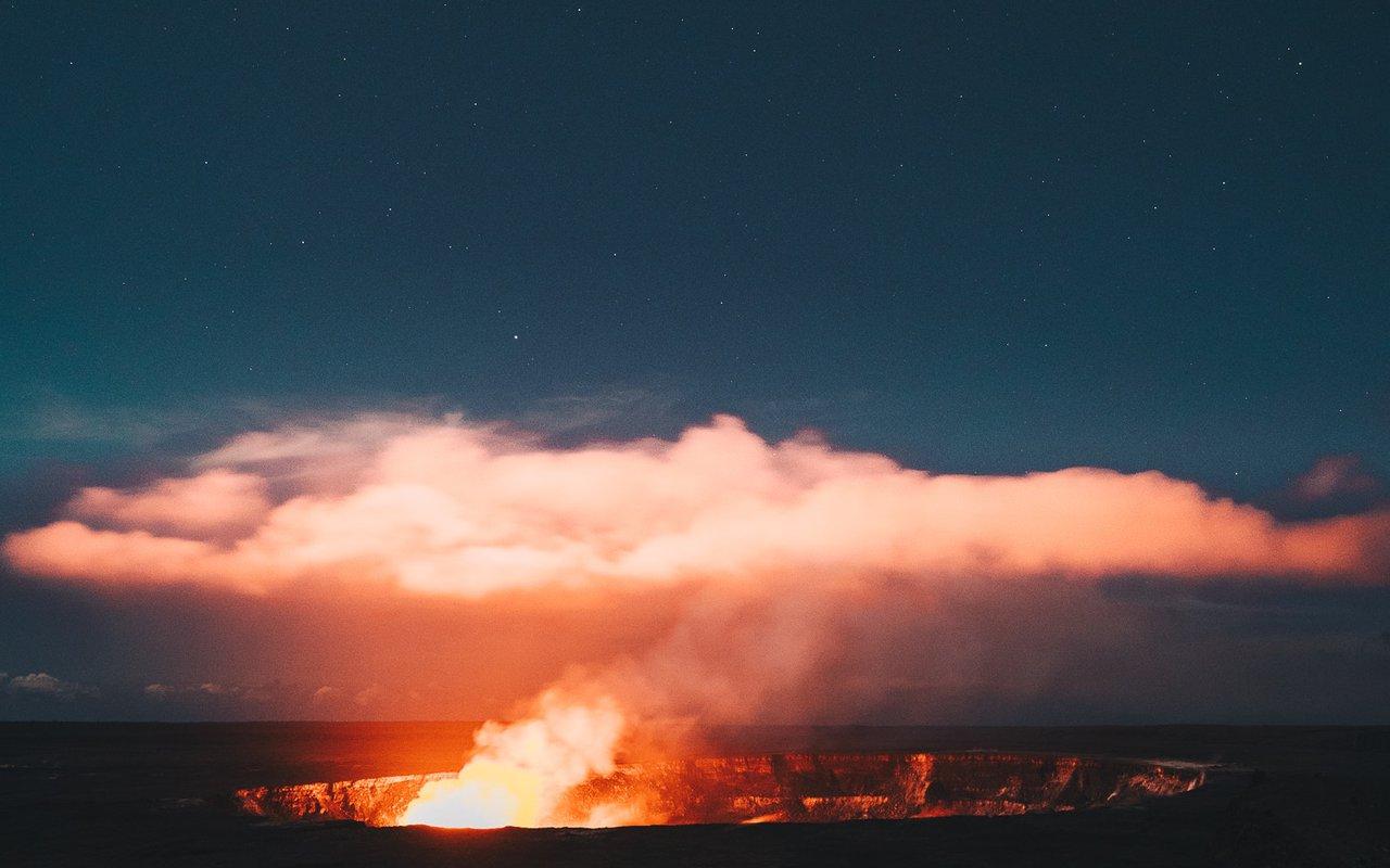AWAYN IMAGE Kalapana Lava Flow