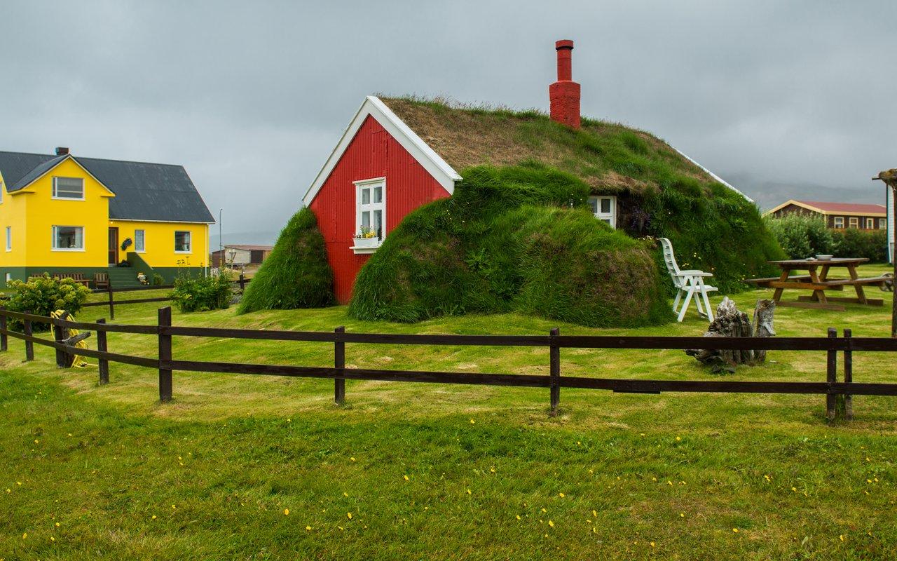 AWAYN IMAGE Lindarbakki Turf House in Borgarfjörður-Eystri