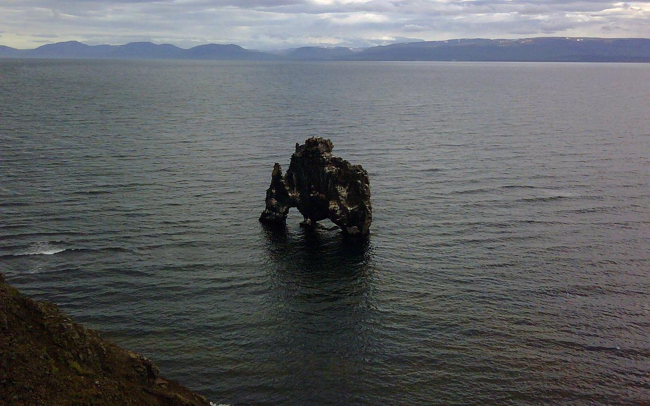 AWAYN IMAGE Get a view of Hvítserkur