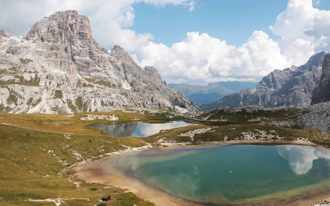 AWAYN IMAGE Hike to Three peaks of Lavaredo, Auronzo di Cadore