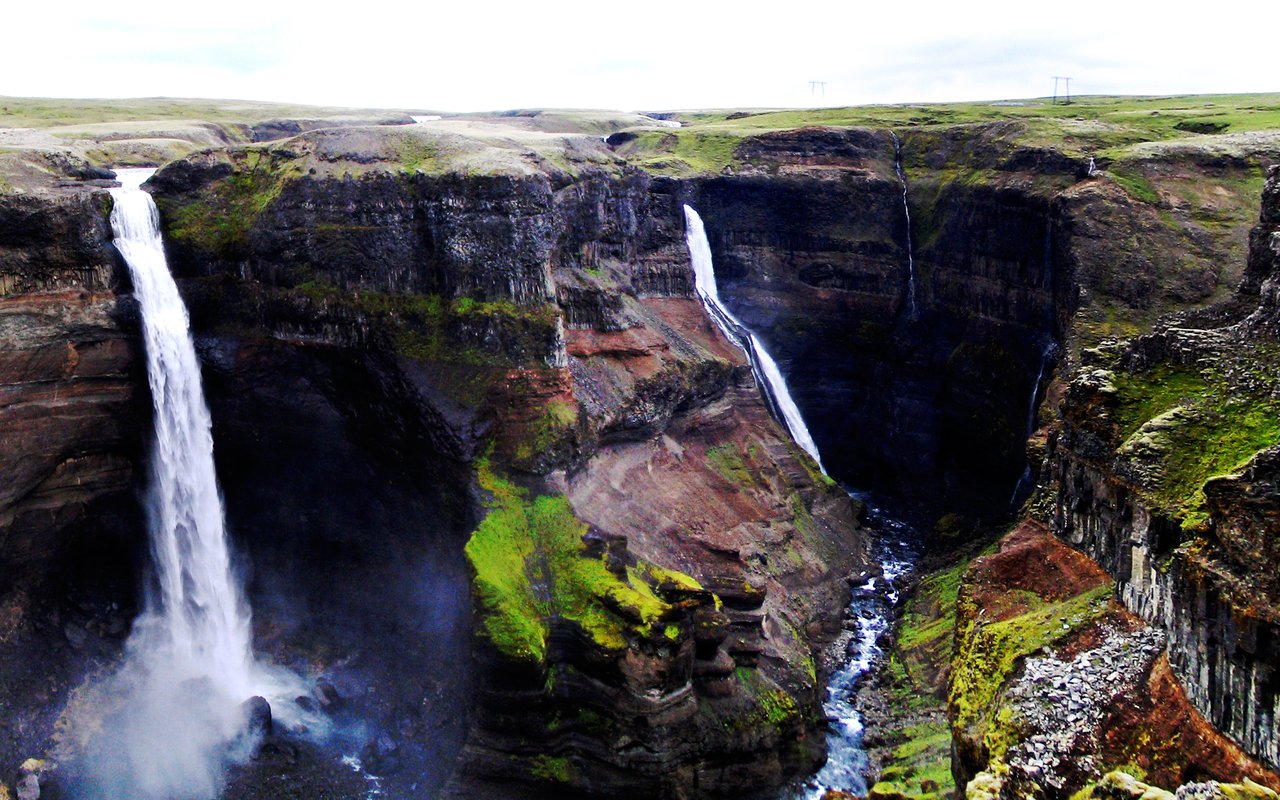 AWAYN IMAGE Hike to Haifoss Fall
